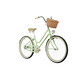 Creme Mini Molly 24 2-speed automatix pistachio